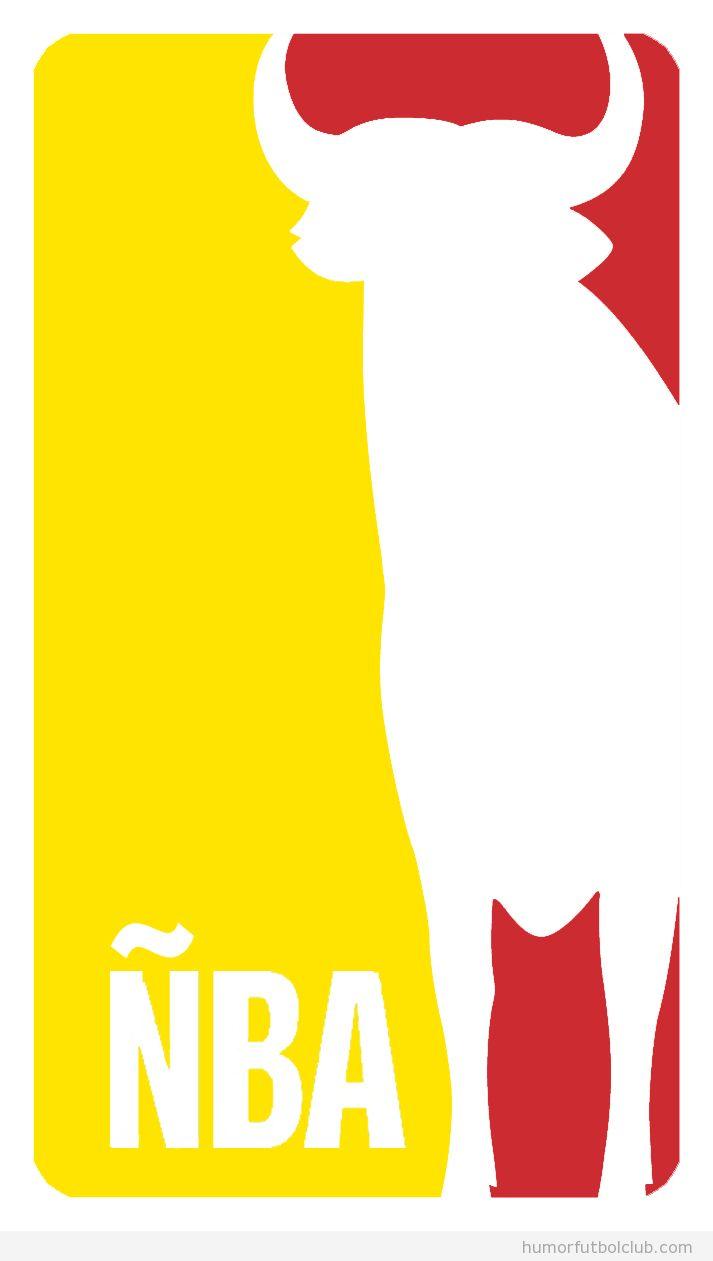 ÑBA, juagdores de la selección española de basket que juegan en la NBA, nuevo logo
