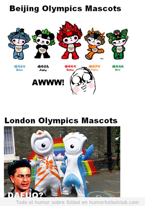 La mascota de los Juegos Olímpicos de Londres 2012 es un poco rara