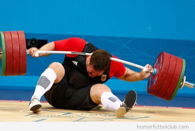 Matthias Steiner, Fail en el levantamiento de peso en los Juegos Olímpicos 2012