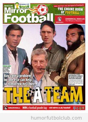 El equipo A, selección inglesa de fútbol