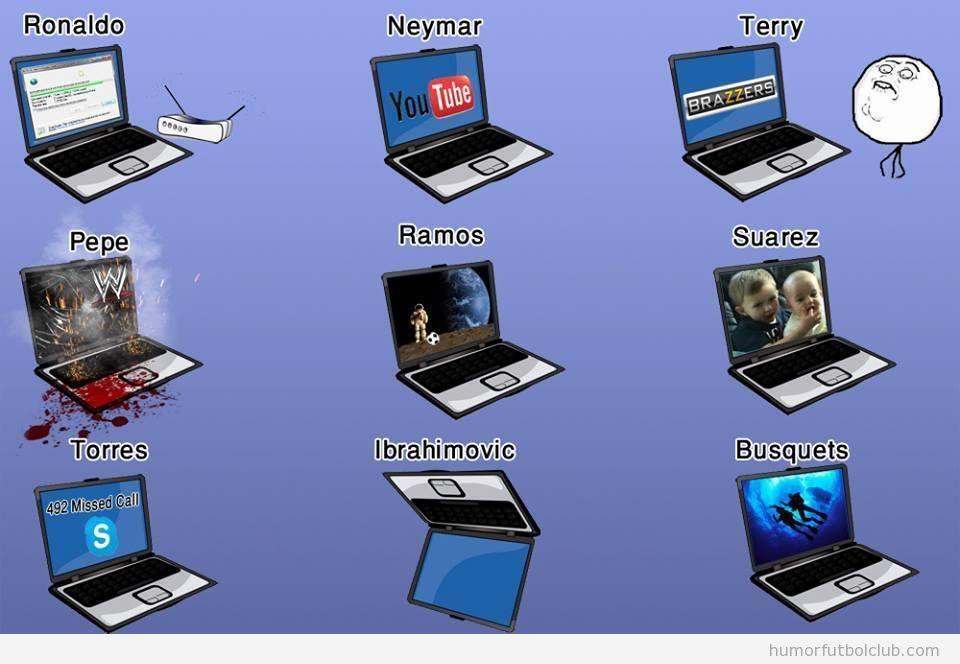Ordenadores humor f tbol club f tbol y humor - Fotos de ordenadores ...