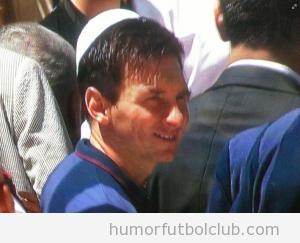 Messi Kipá judío