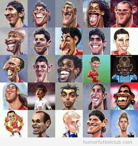Famosos | Humor Fútbol Club | Blog de Imágenes graciosas del fútbol