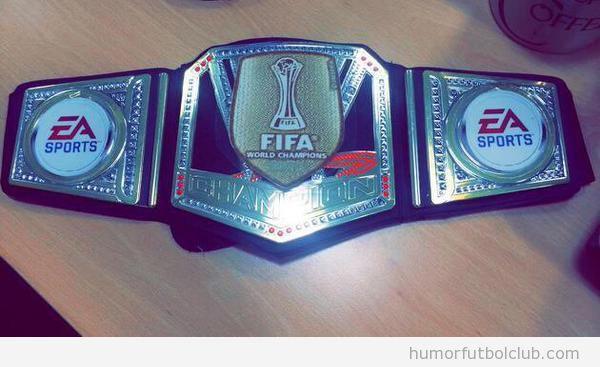 Cinturón Wrestling FIFA