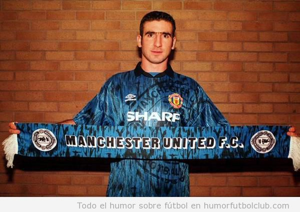 Fichaje Cantona Manchester United 1992