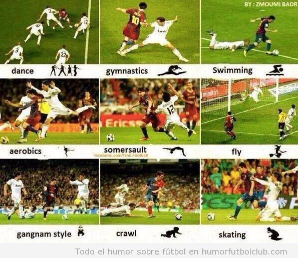 Fotos curiosas del efecto Messi