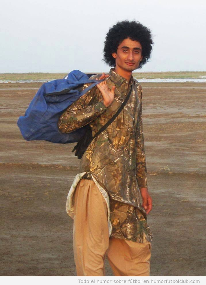Parecido razonable de un pakistaní con Marouane Fellaini