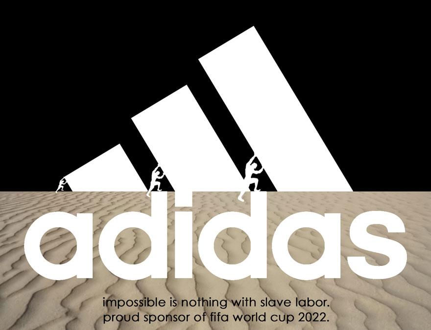 Logos anti esclavitud patrocinadores Mundial Fútbol Qatar 2022 - 5