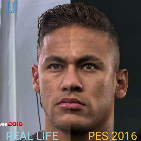 Muestra de gráficos realistas en el PES 2016