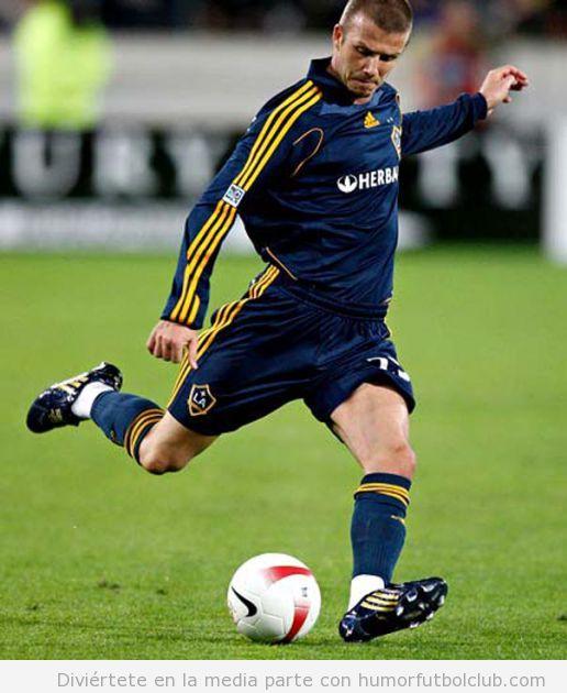 Beckham tiene sus piernas aseguradas por 70 millones de $