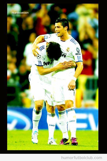 Bad romance entre Cristiao Ronaldo y Kaka