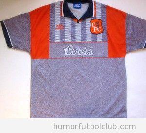 Camiseta Fea del Chelsea en la temporada 1995