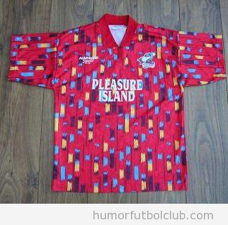 Camiseta fea del Scunthorpe temporada 1994