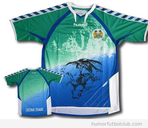 Camiseta horrible Hummel Sierra Leona