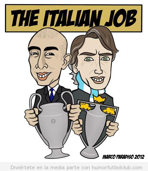 The Italian Job es la Champions de Di Matteo