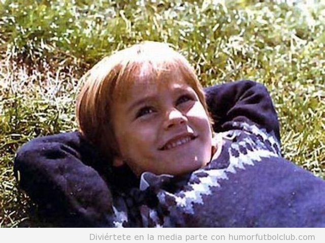 Favio Cannavaro de pequeño