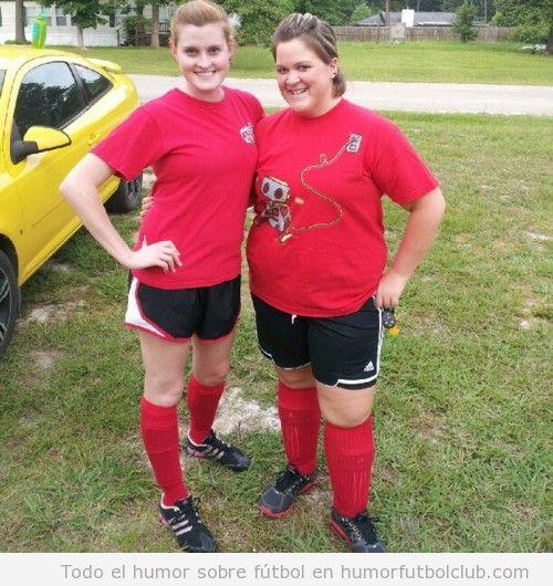 Chicas de un equipo de fútbol femenino