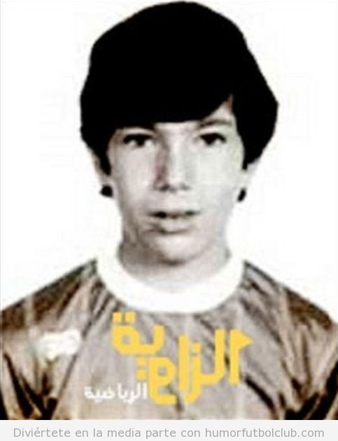 Zinedine Zidane de niño