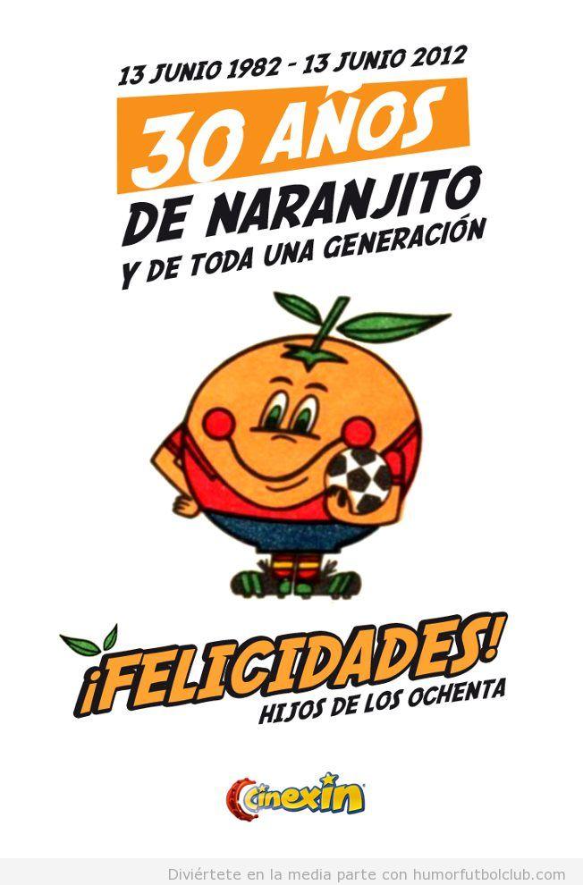 13 de junio 1982 empezó mundial españa, 30 años de naranjito