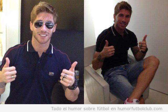 Sergio Ramos, nuevo look con corte de pelo