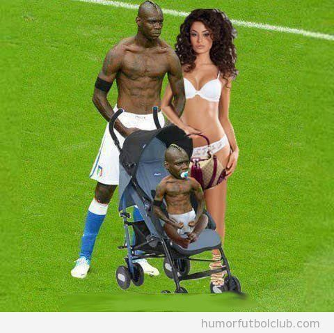 Balotelli va a ser padre