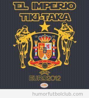 La selección española es el Imperio Tiki Taka de Star Wars
