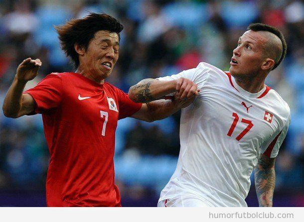 Michel Morganella, futbolista suizo, ha sido expulsado de los Juegos Olímpicos 2012 por insultos racistas