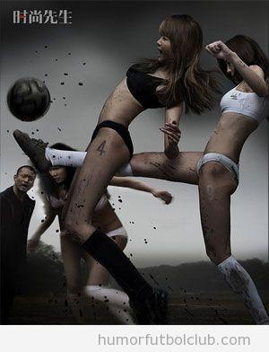 Chicas sexys futbol femenino