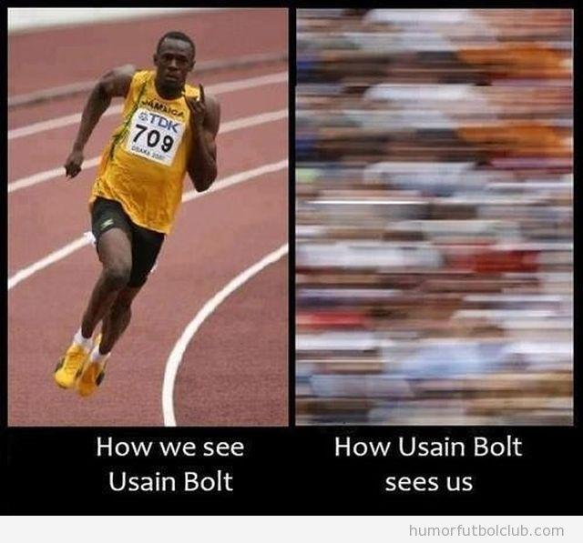 Meme, cómo vemos a Bolt, cómo nso ve