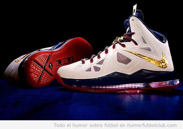 Nuevas zapatillas deportivas Lebron James Nike de alta tecnología