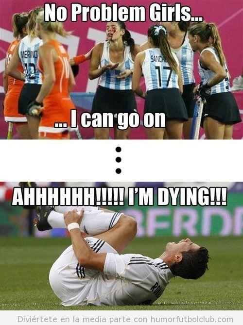 Diferencia entre mujeres deportistas sangrando y hombres