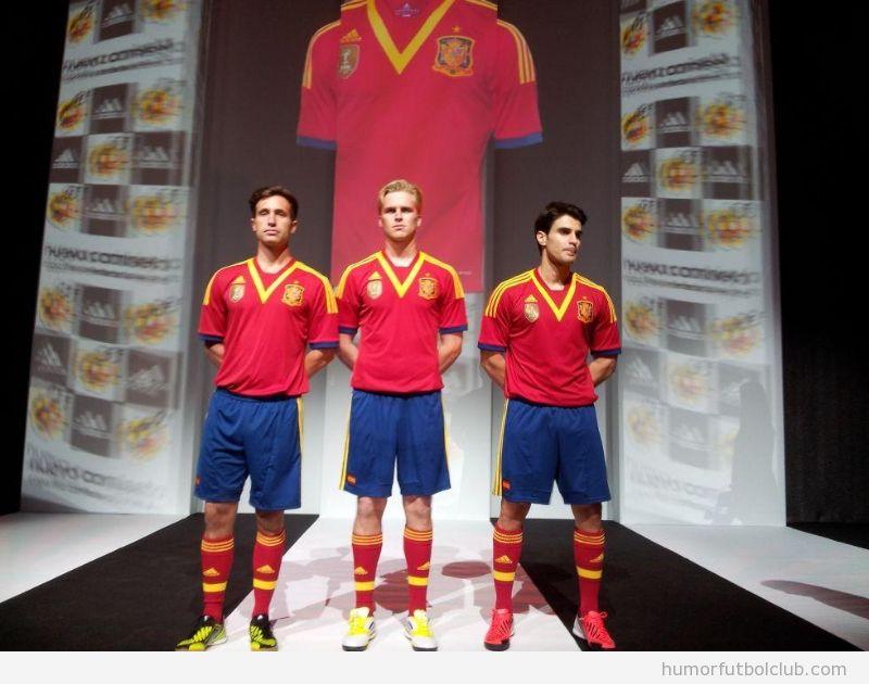 Camiseta fea de la Selección Española ne la Copa Confederaciones Basil