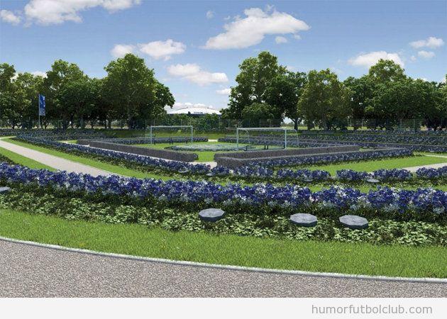 Cementerio para los hinchas del Schalke 04