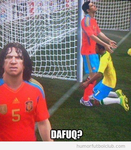 Imagen WTF gay de un videojuego de fútbol