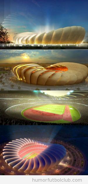 Propiesta de Estadio Olímpico, Al Ajeeat, Baghdad, Iraq