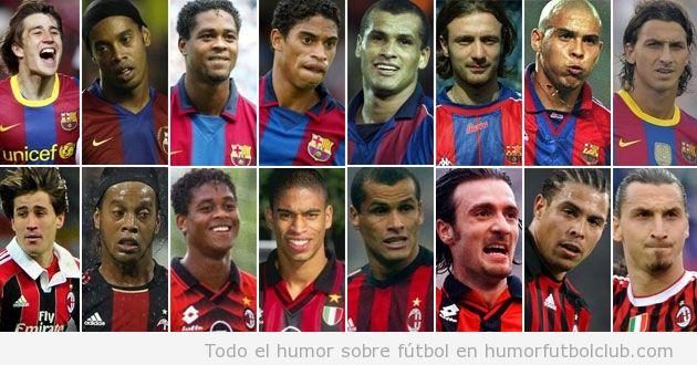 8 futbolistas que han jugado en el Barça y en el AC Milan
