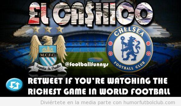 Mancher City Vs Chelsea, El Cashico