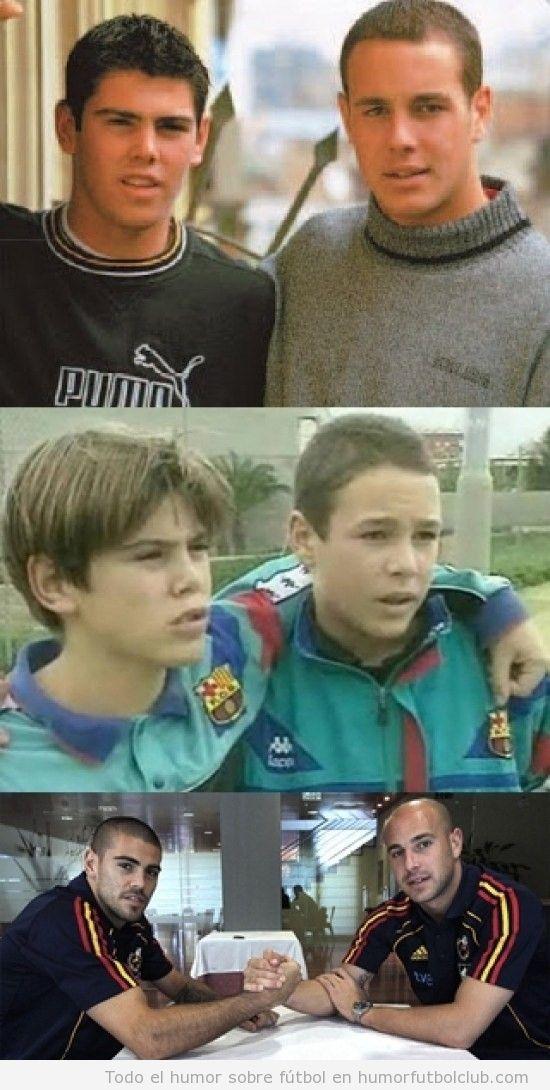 Reina y Valdés son amigos desde pequeños
