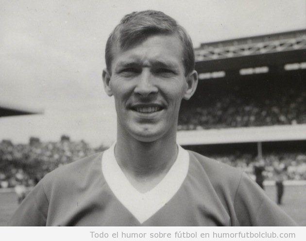 Imagen de Alex Ferguson de joven, cuando aún era futbolista
