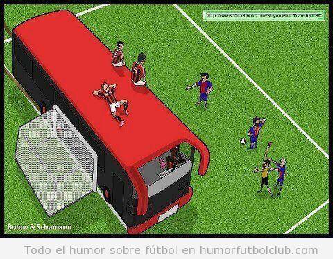 comic-viñeta-graciosa-tactica-ac-milan-barça-champions-league