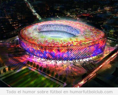 Proyecto de reforma del Camp Nou Barça