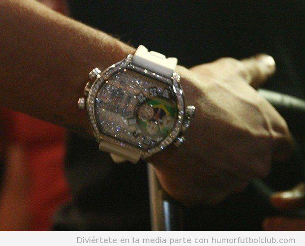 Reloj de diamantes de Neymar