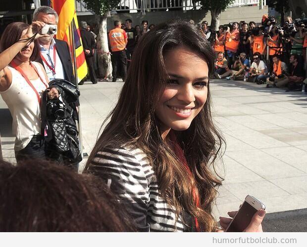 Bruna Marquezine, novia de Neymar, en Barcelona