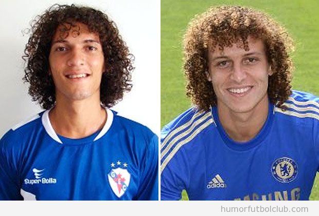 El doble de David Luiz