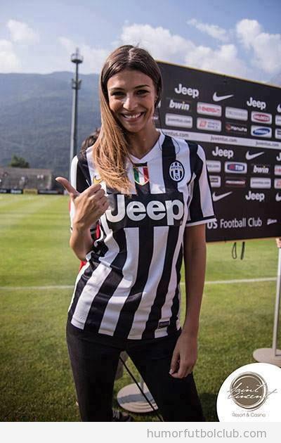 La doctora de la Juventus, una chisa muy guapa