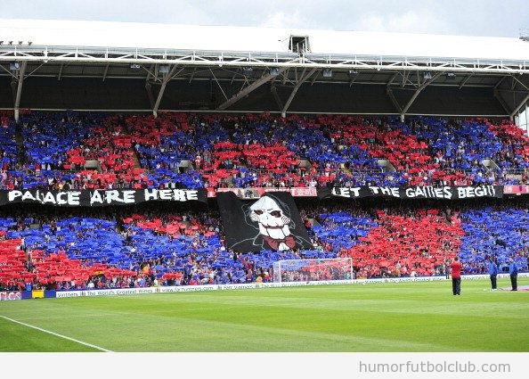 Tifo Crystal Palace vs Spurs, The Saw