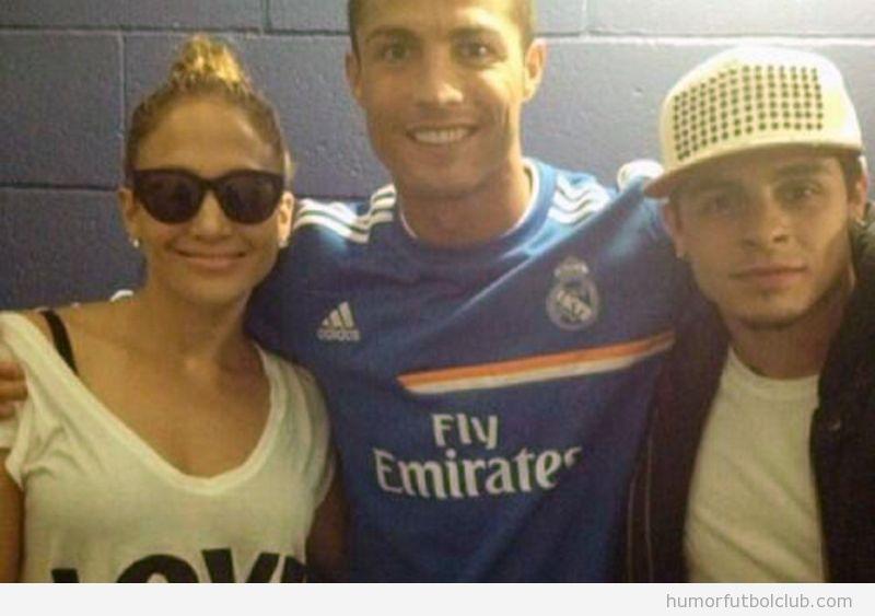 Jennifer López y Cristiano Ronaldo