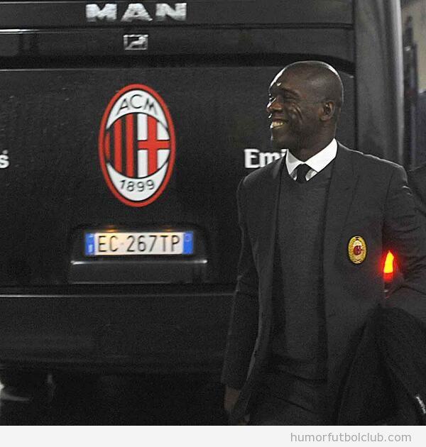 Foto de Seedorf nuevo entrenador  AC Milan