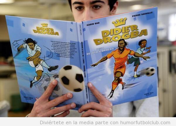 Comic del jugador del Galatasaray Drogba