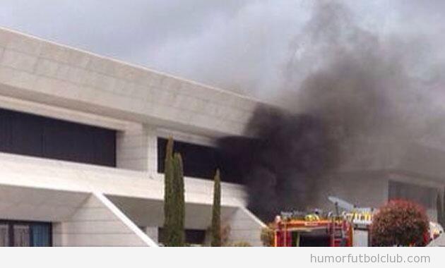 Explosión de gas casa de Jesé Real Madrid